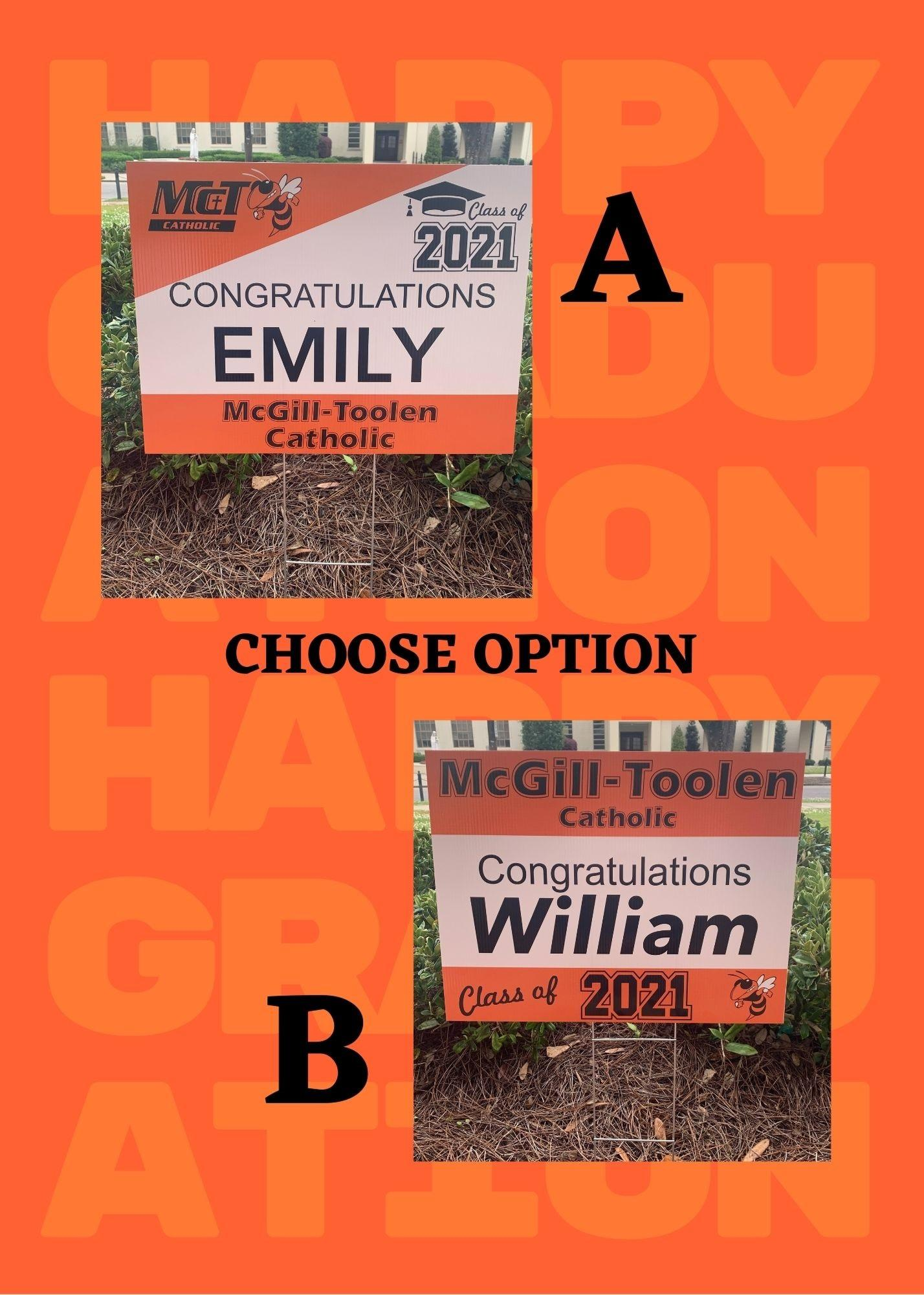 Orange and White Happy Graduation Class of 2021.jpg