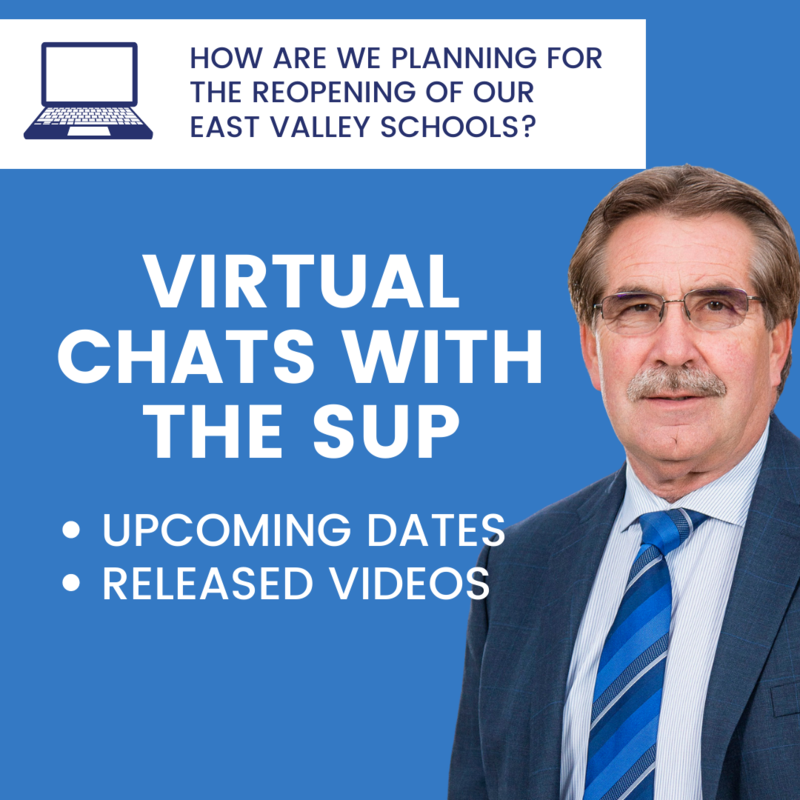 Virtual chats with the sup. Click here for upcoming dates and released videos.