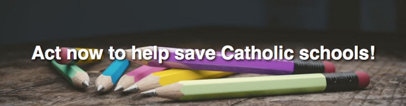 Act Now to Help Save Catholic Schools! Featured Photo