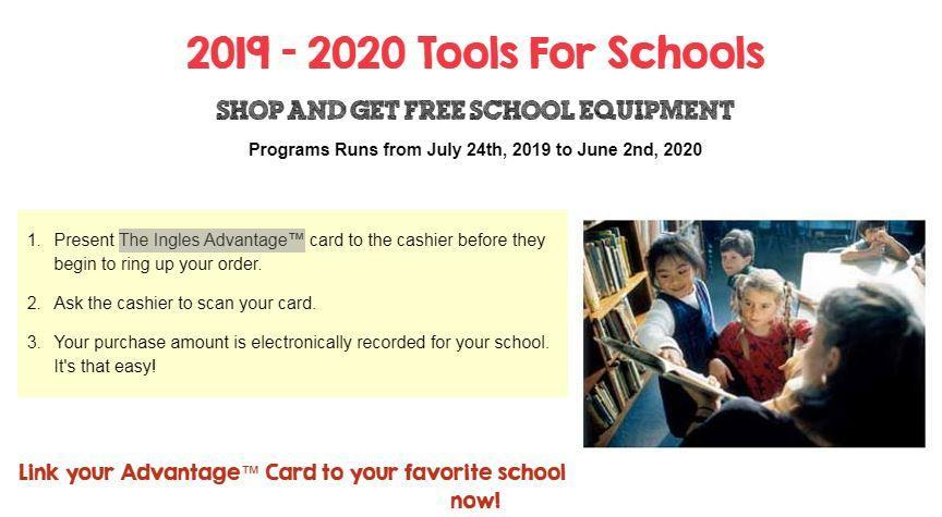 Ingles tools for schools information from ingles website