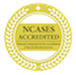 NCASES Accreditation Seal