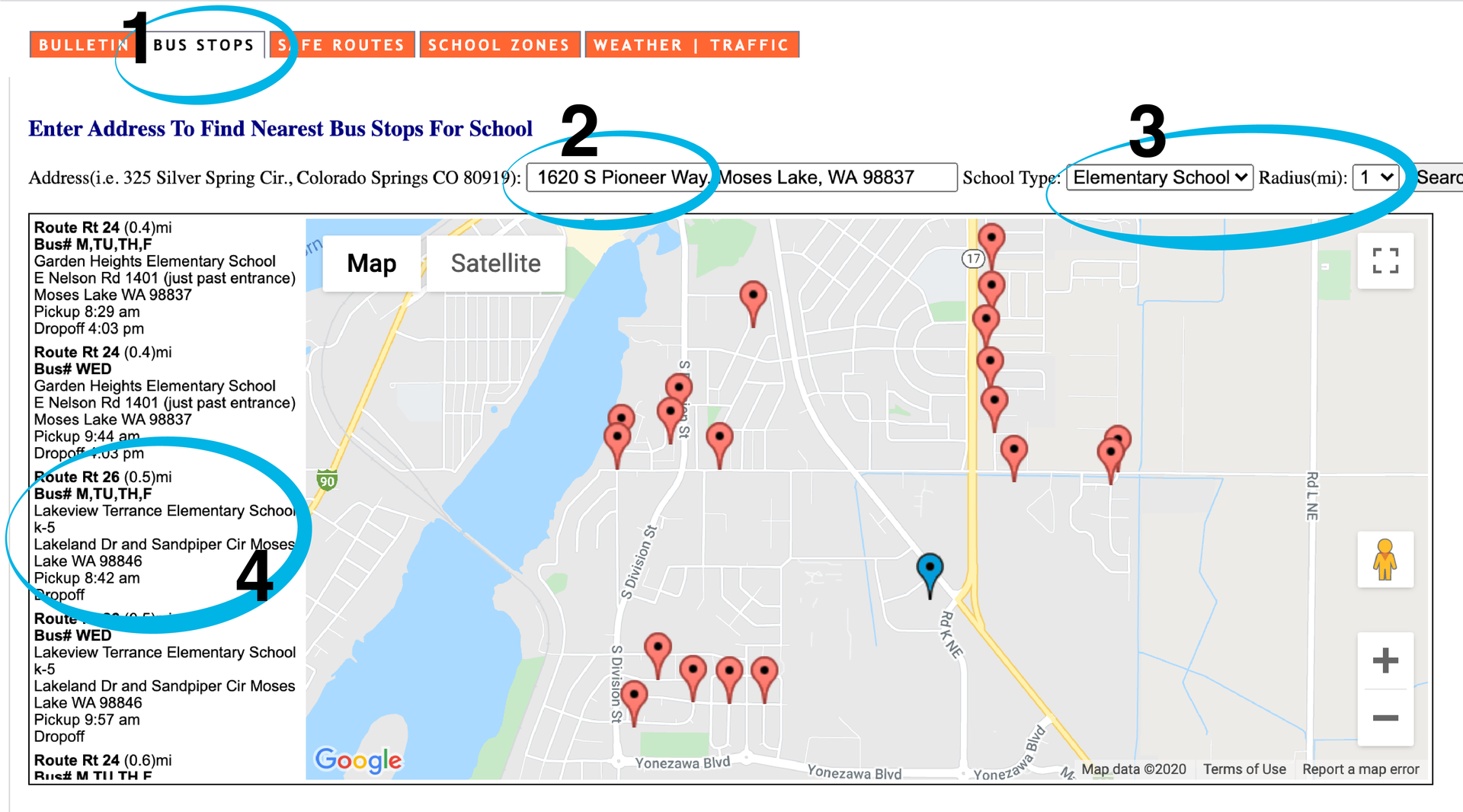 How to find route