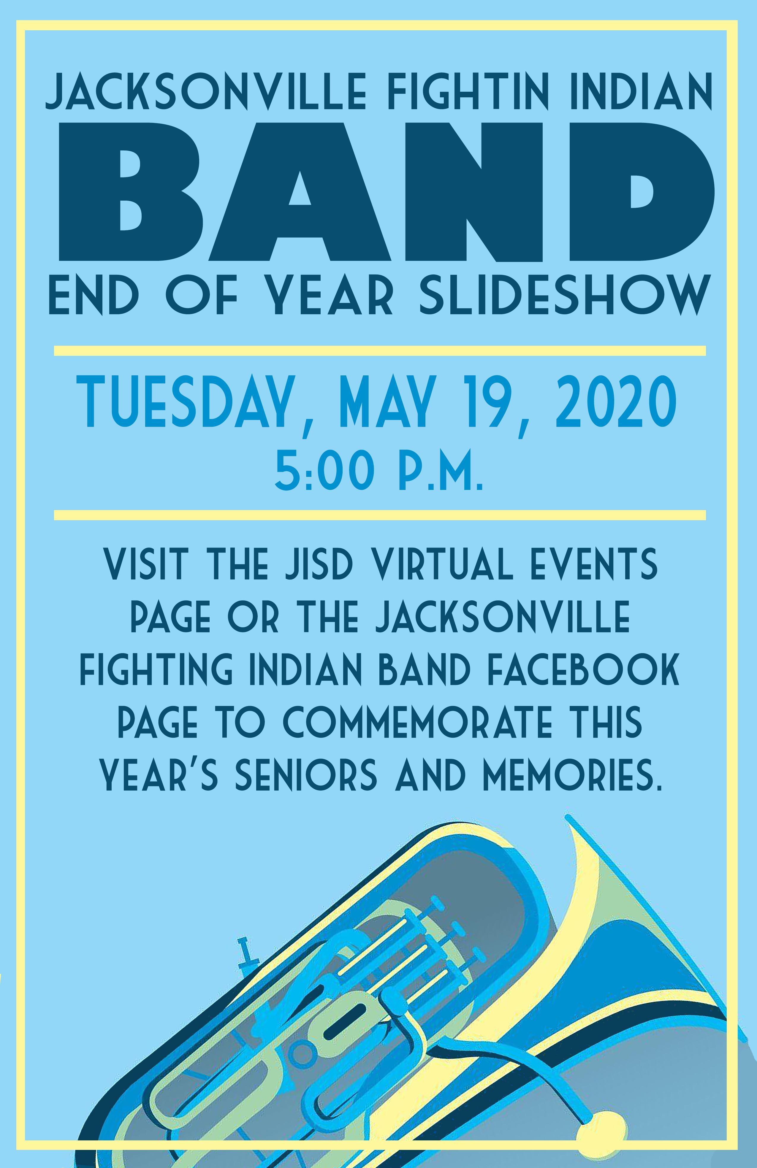 Band slideshow invitation