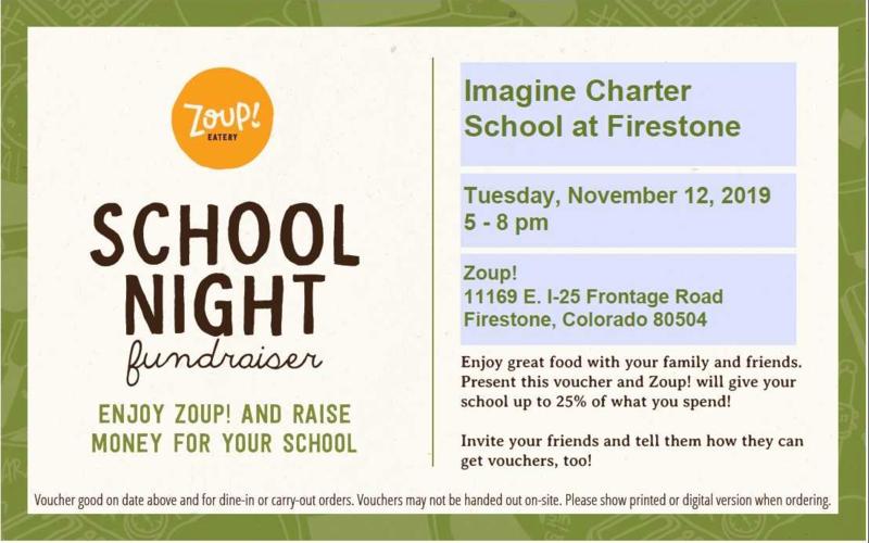 Zoup! Restaurant Fundraiser - November 12th Featured Photo