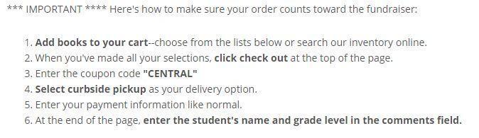 Parnassus ordering instructions
