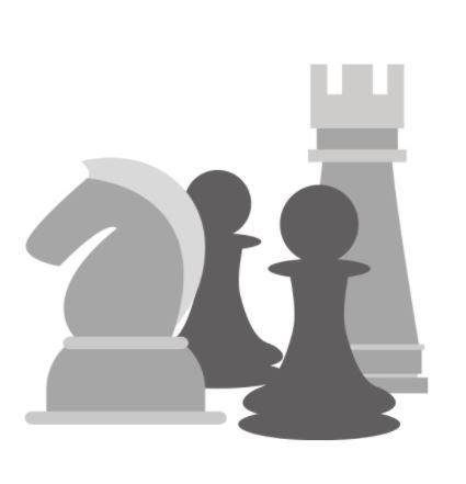 4 chess pieces