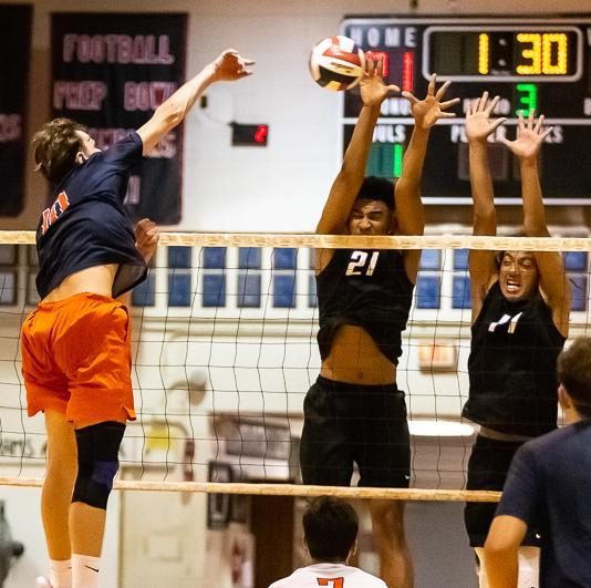 Mustang Boys Volleyball finish 3rd in State Finals! Featured Photo