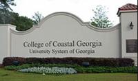 Photo of sign for College of Coastal Georgia