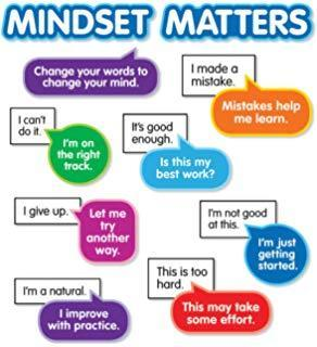 Mindset Matters!