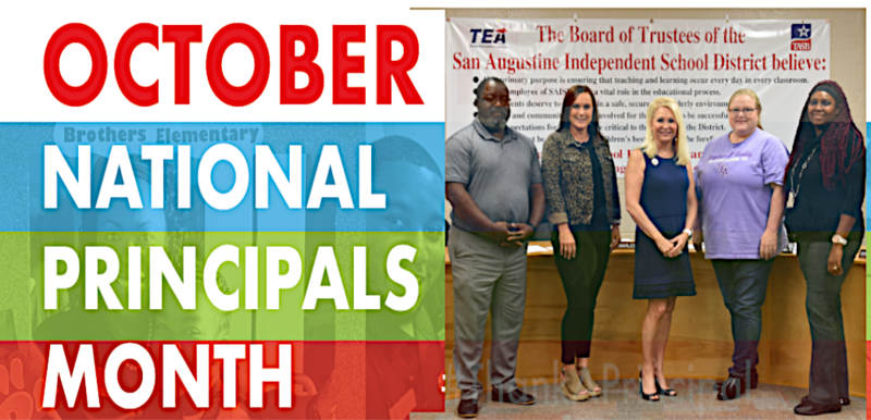National Principals Month October