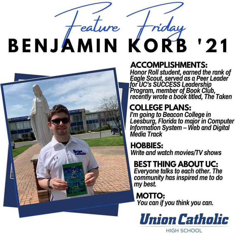 Union Catholic's Ben Korb Has Written a Book Thumbnail Image