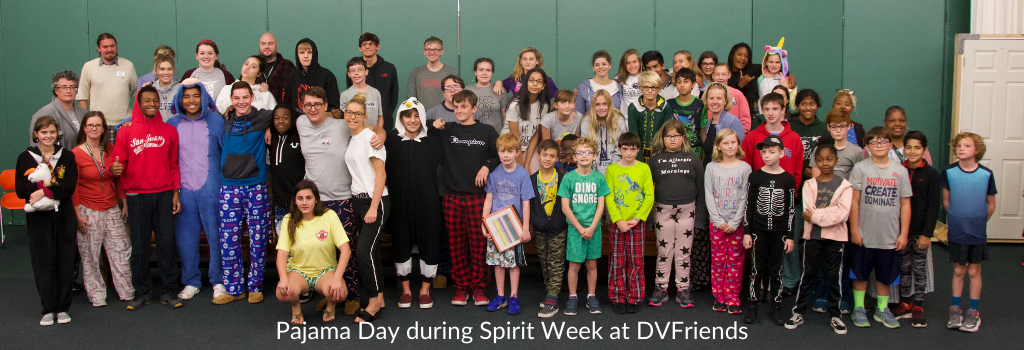 Pajama Day at DVFriends