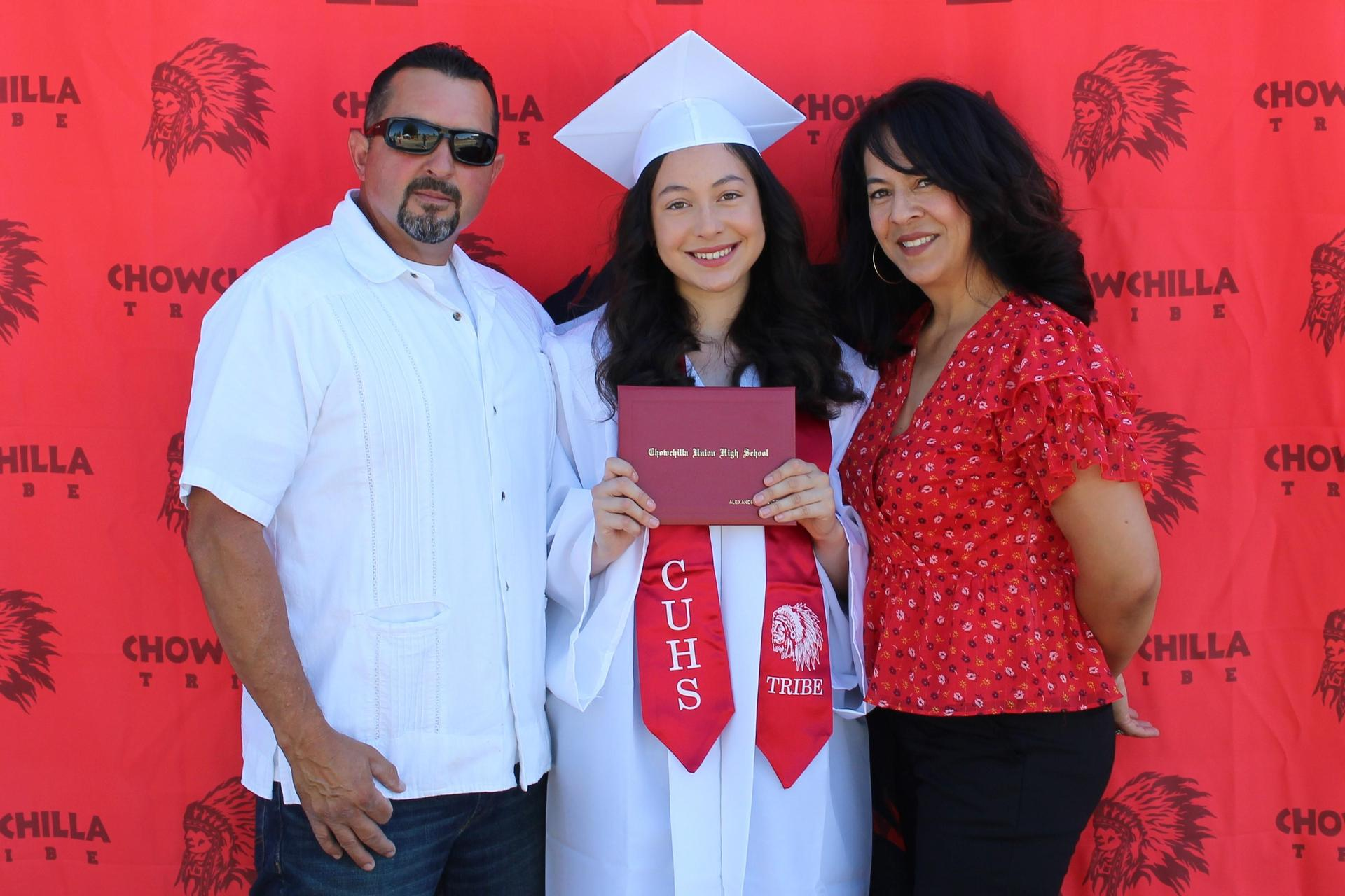 Alexandria Montez and family