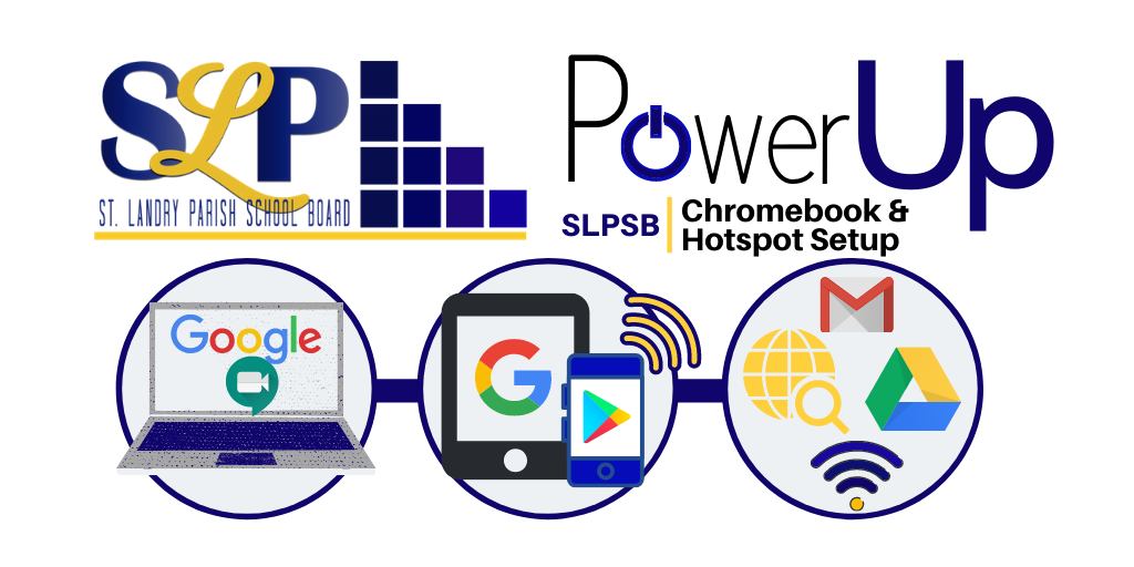 power up chromebook setup