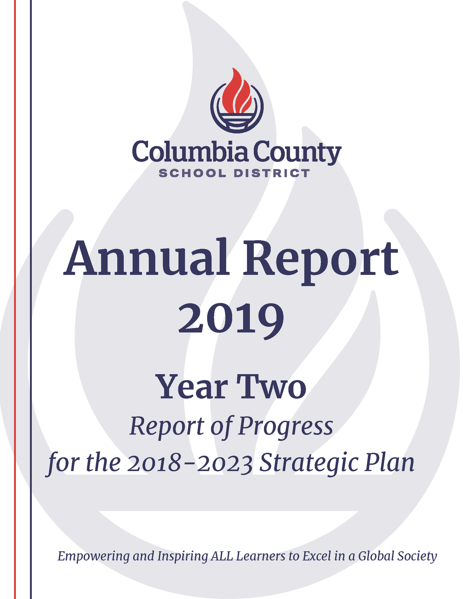 Cover image of the Annual Report and Strategic Plan