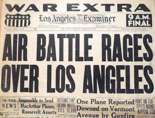 Air Battle Rages Over Los Angeles