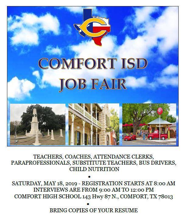 Comfort ISD Job Fair