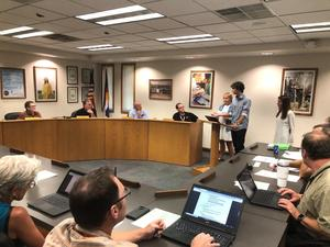 September 9th Board of Education Meeting - CCHS School Student Council Presentation