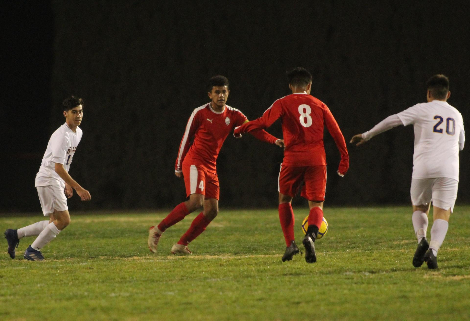 Antonio Ochoa and Favian Casillas with the Ball