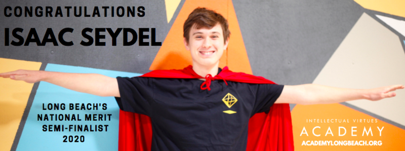 Academy Student named National Merit Scholarship Semi-Finalist! Thumbnail Image