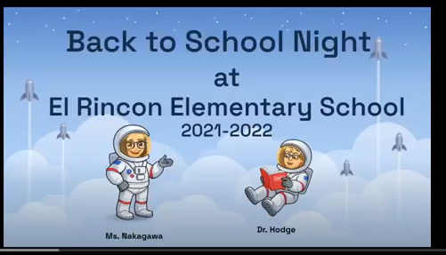 Sept 1st- Back to School Night info session with Dr. Hodge Featured Photo