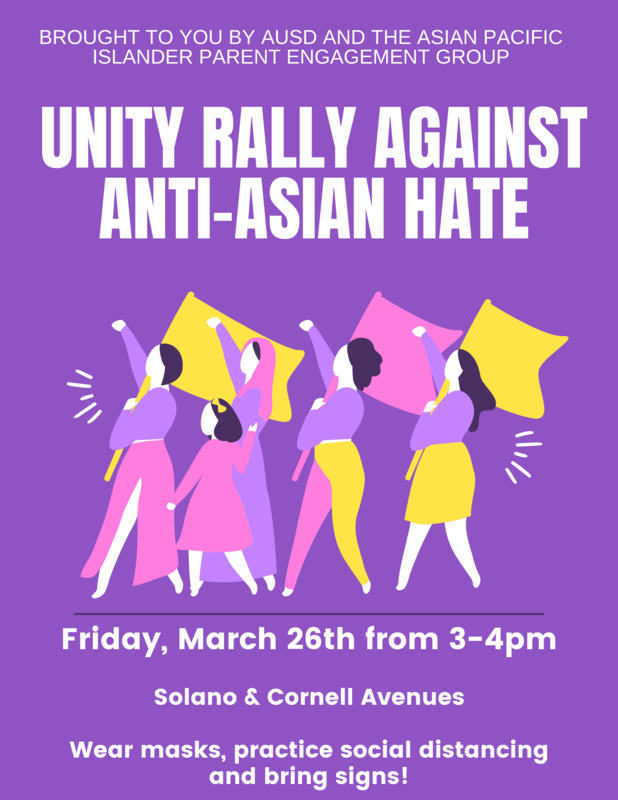 Unity Rally Against Anti-Asian Hate March 26 2021