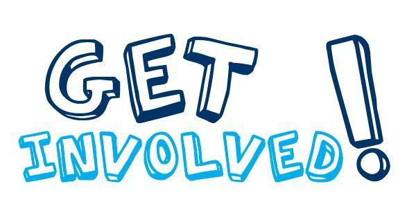 graphic saying get involved