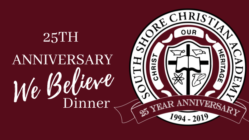 25th Anniversary We Believe Dinner