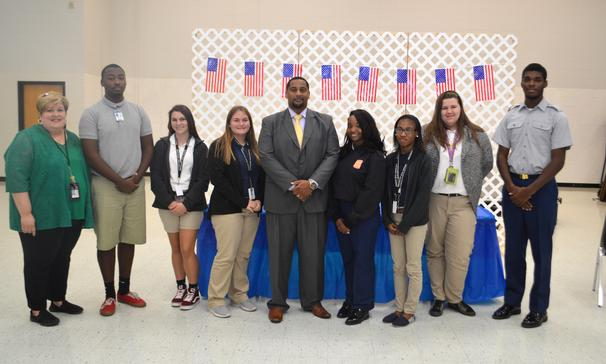 Northwest JAG Career Association held its 2nd Annual Initiation and Installation Ceremony on Wednesday, September 19, 2018. Assistant Attorney for St. Landry Parish, LaDonte' Murphy,  installed officers and members. JAG Career Association is a student led organization that teaches members leadership skills, career development, civic awareness, social awareness and community service. JAG Specialist for Northwest High is Mrs. Susan Mouton.