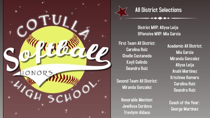 softball all district selections