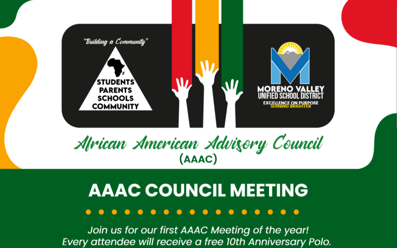 Cover picture for AAAC meeting