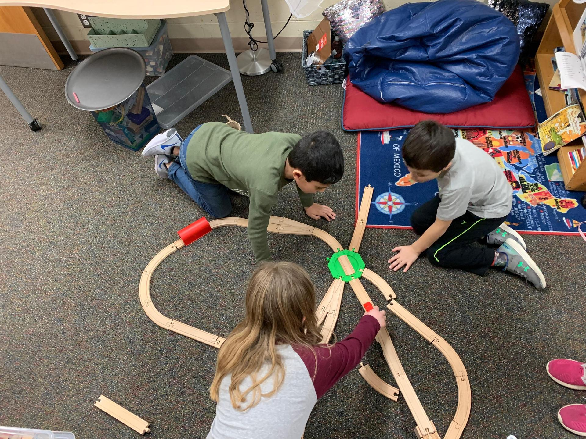 Building track