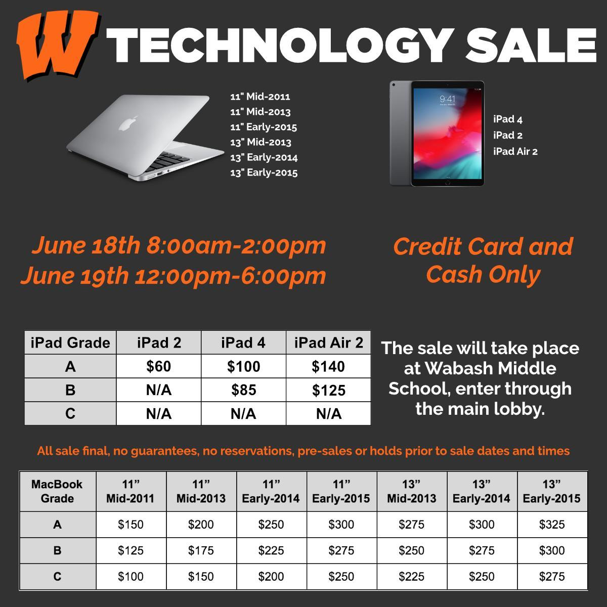 2019 Technology Sale Ad