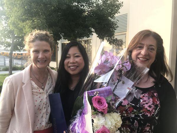Congratulations Tammy Kent! PYLUSD Community Honoree