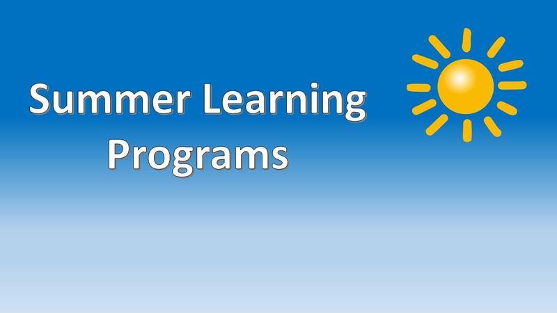 Summer Learning Programs