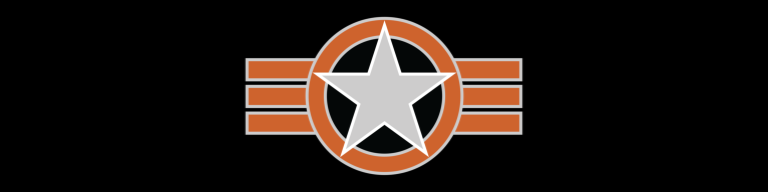 star and bars black logo