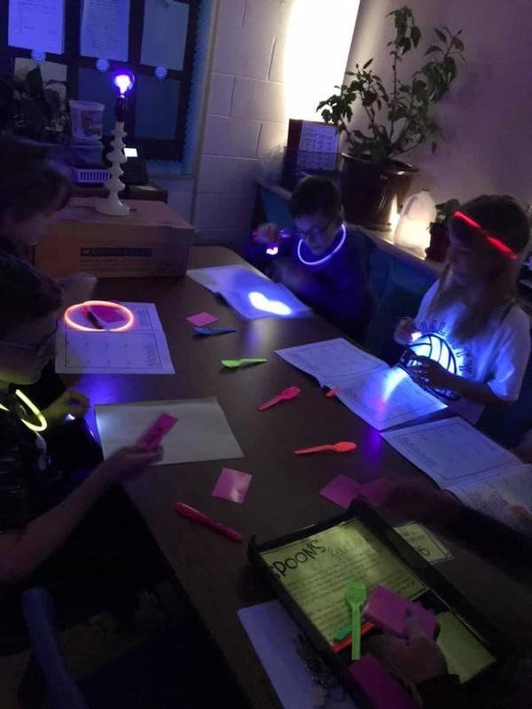 Glow Games with Mrs Gernenz