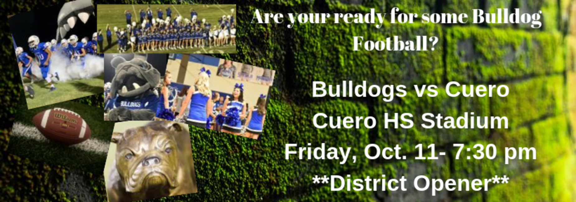 Football vs Cuero