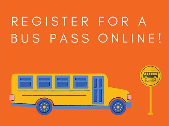 Register for a bus pass online