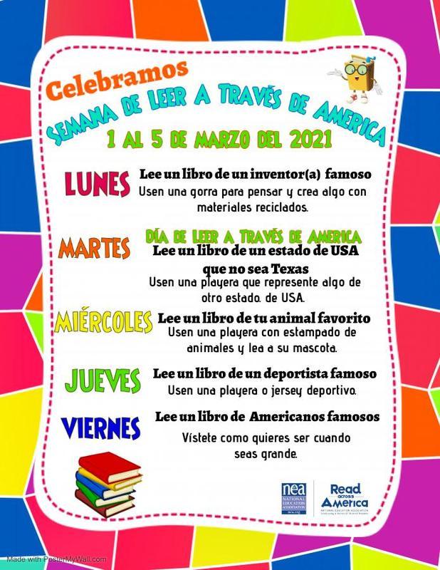 Spanish Read Across America Week