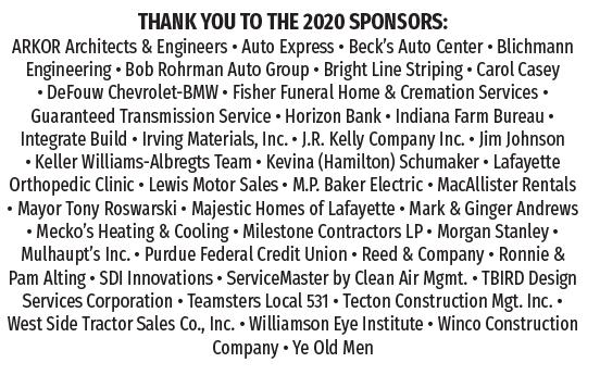 List of 2020 Sponsors