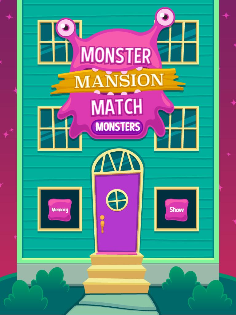 Monster Mansion Match