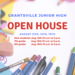 Grantsville Junior High open house dates. August 13th, 15th, 16th