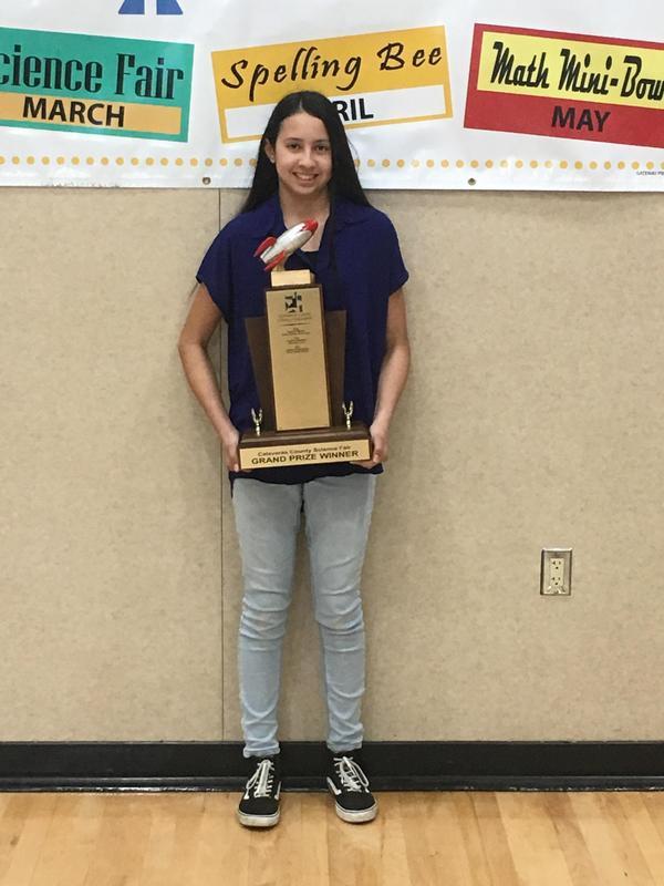 Winner of 2019 Science Fair