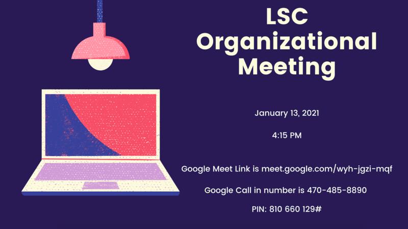 LSC Organizational Meeting Featured Photo