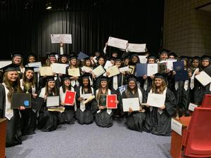 Beddingfield HS Awards Day Scholarship Picture