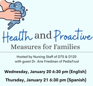 Health & Proactive Measure Virtual Meeting