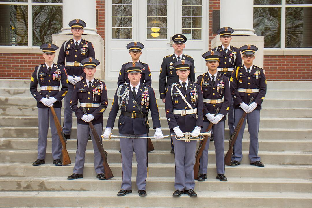 Missouri Military Academy Honor Guard