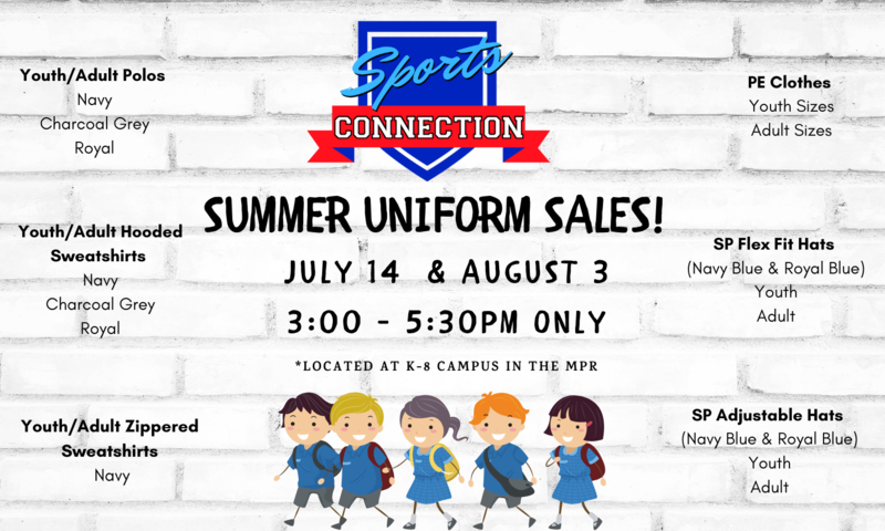 Summer Sports Connection Uniform Sales Featured Photo