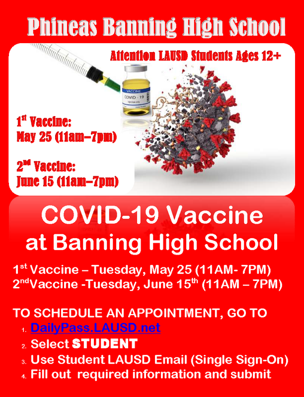 COVID-19 Vaccine at Banning High School Featured Photo